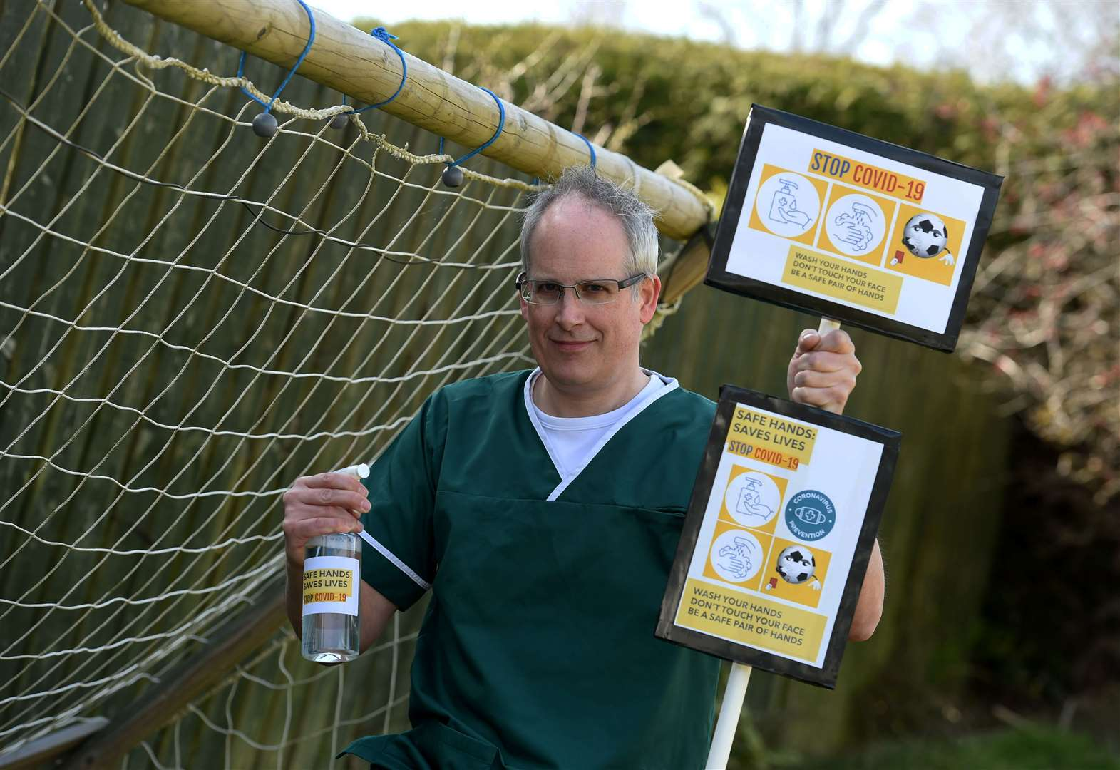 Campaign To Secure Hand Sanitiser And Refill Stations For Rural Communities Gathers Pace photo