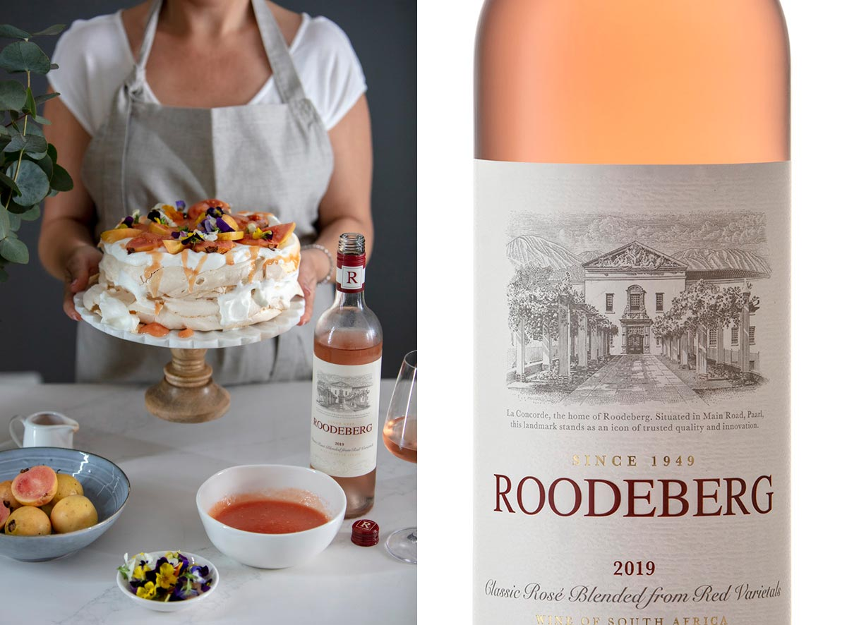 Spoil Mom With A Lip Smacking Dessert And Roodeberg Rosé This Mother's Day photo
