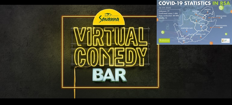 #covid19campaignradar: #savannavirtualcomedybar • Marklives.com photo