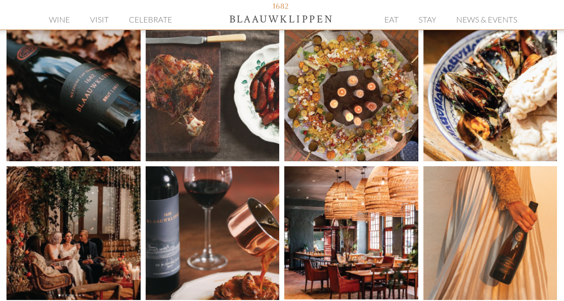 Blaauwklippen Launches New Website With  Contemporary Features photo