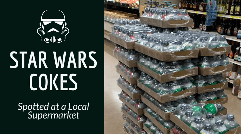 Galaxy's Edge Star Wars Coke Is Found At A Local Supermarket photo