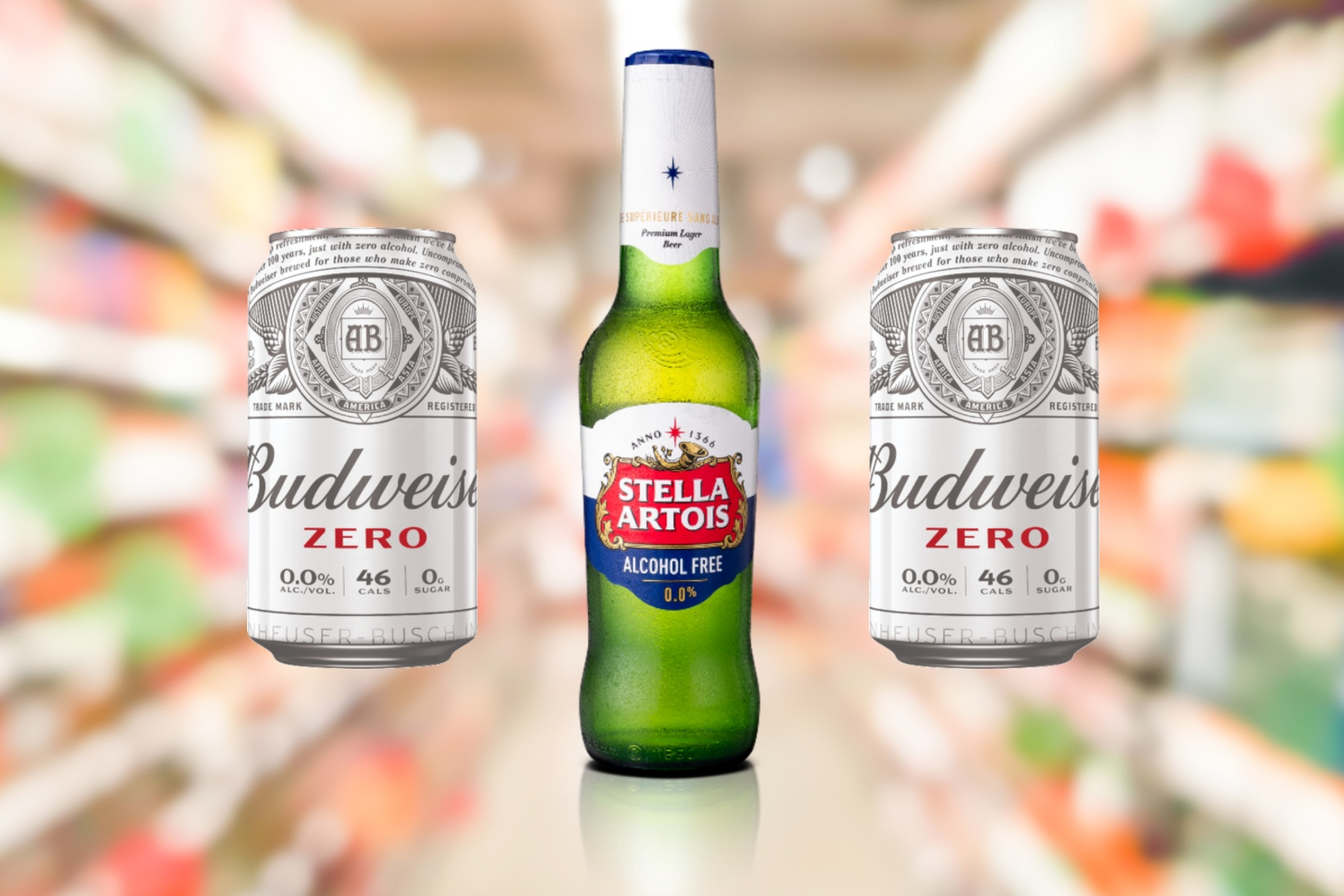 Budweiser Zero And Stella Artois Alcohol Free Launched photo