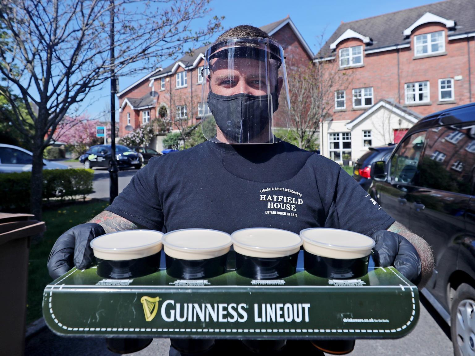Coronavirus: Ni Bar Delivering Pints Of Guinness To Your Front Door During Covid-19 Lockdown photo