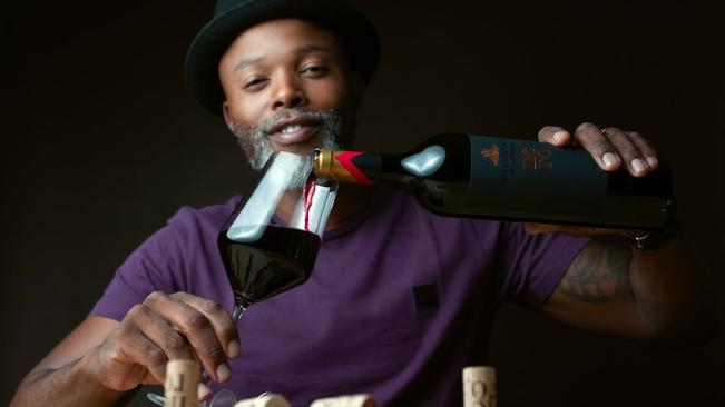 Watch: Thapelo Mokeona Launches New Wine Channel On Youtube photo