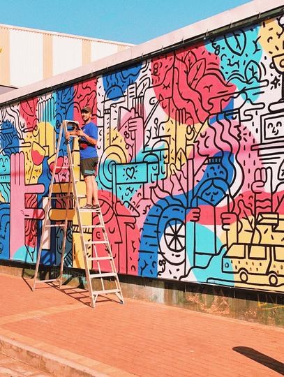 Bos Tea Encourages Fun And Creativity During Lockdown Through Art photo