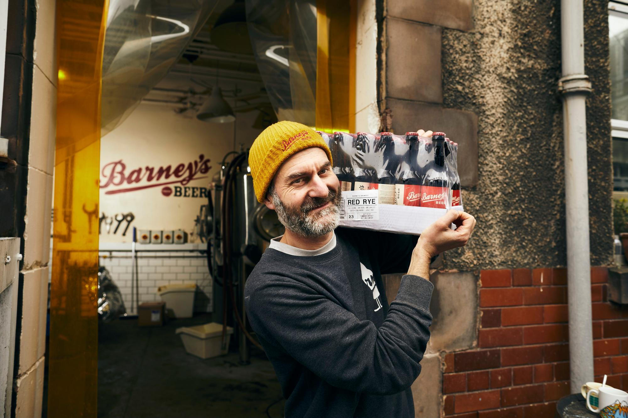 Edinburgh Brewer Barney's Beer Roll Out Postal Deliveries Across Uk For The First Time photo