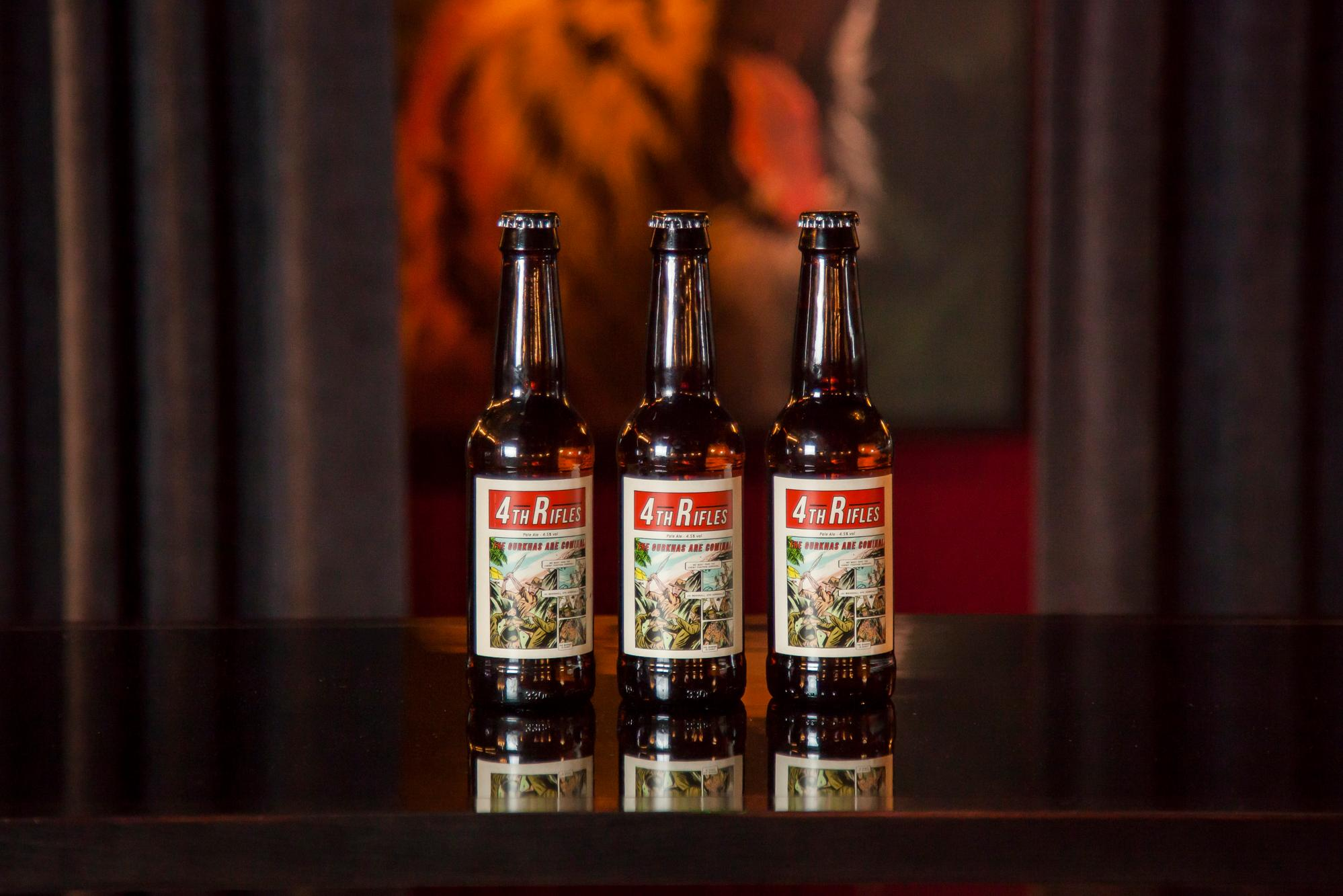 Thornbridge Brewery Give Donation From 4th Rifles Beer Sales To Help Hospitality Staff In Crisis photo