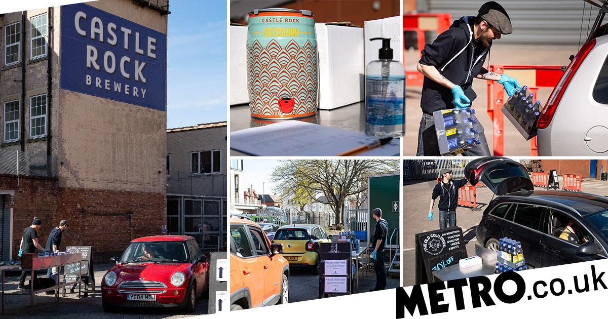 Brewery Opens Drive-thru For Brits To Pick Up Beer Without Leaving Cars photo
