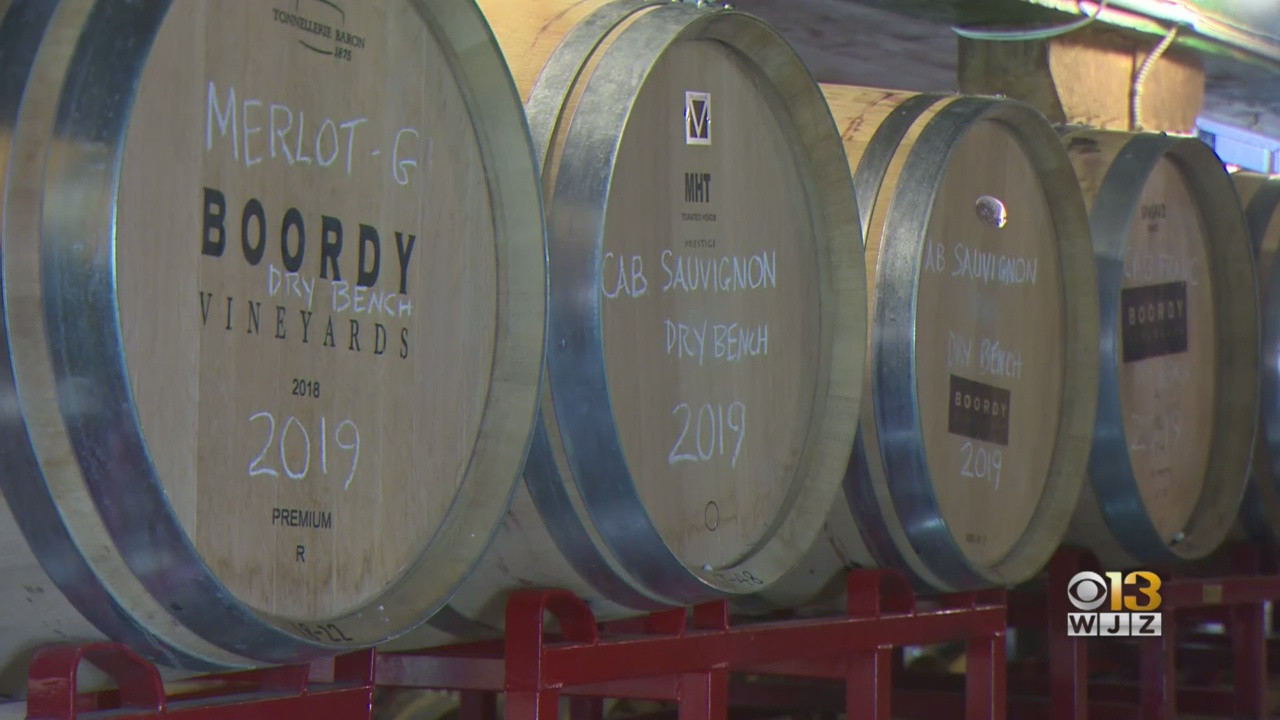 'it's Been A Big Change': Maryland Wineries Deal With Increased Online Orders, Limited Foot Traffic photo