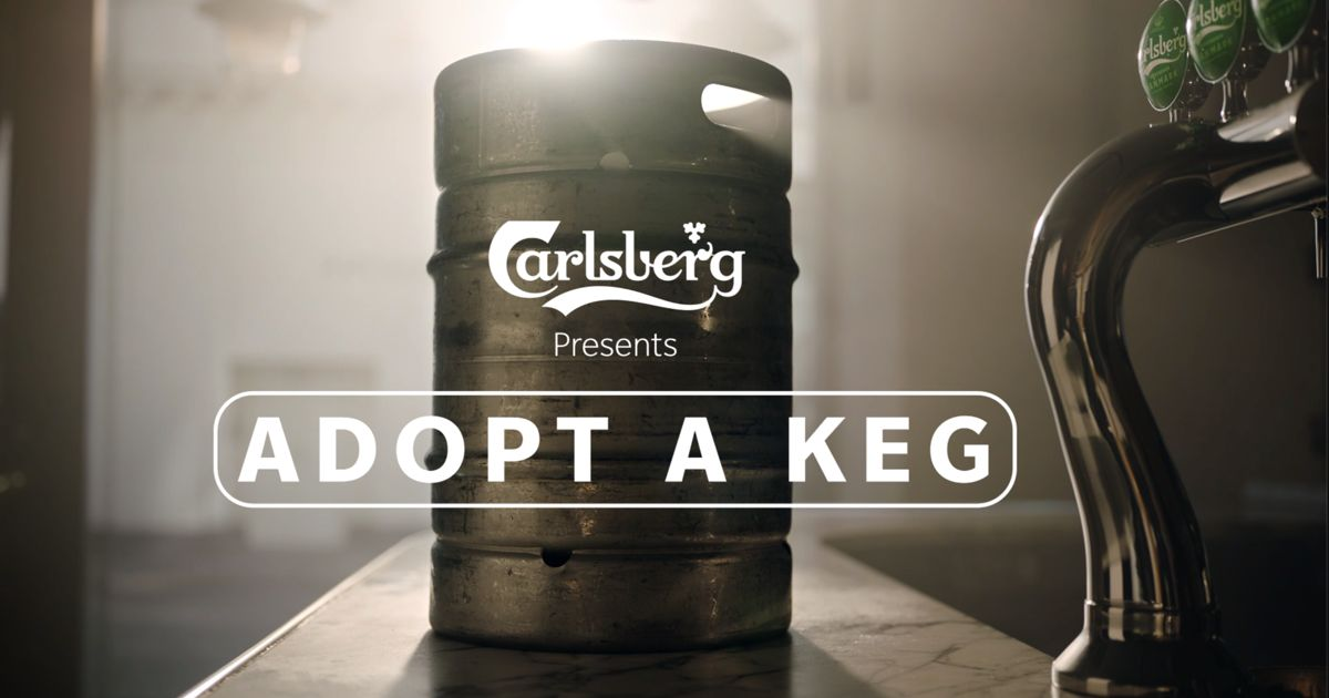 Carlsberg Urges People To Adopt A Keg To Support Bars In Denmark photo