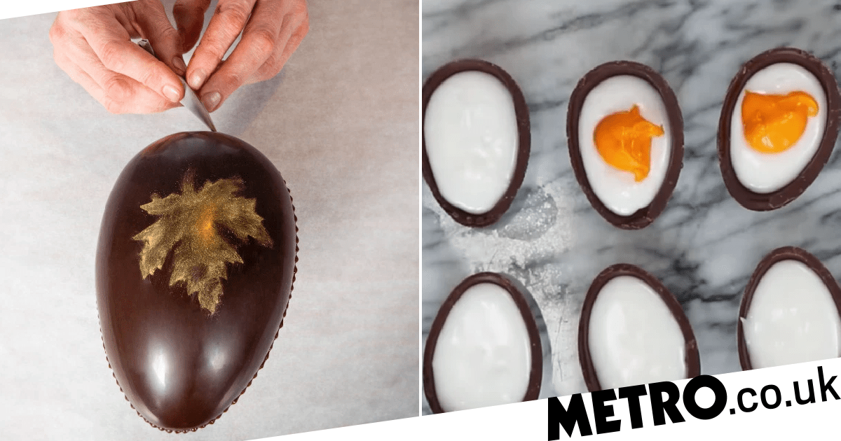 How To Make Chocolate Easter Eggs At Home photo