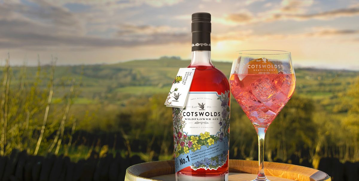 Cotswolds Distillery's Pretty New Wildflower Gin Sounds Like Spring In A Glass photo