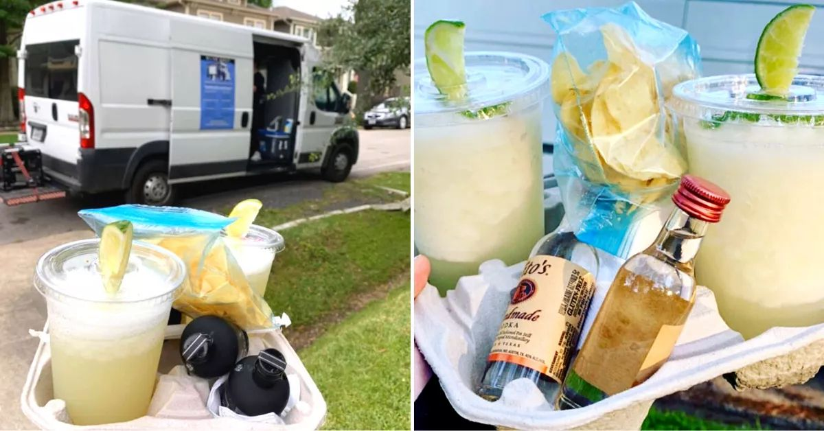 Adult Ice Cream Truck In Houston Delivers Frozen Cocktails Right To Your Door photo