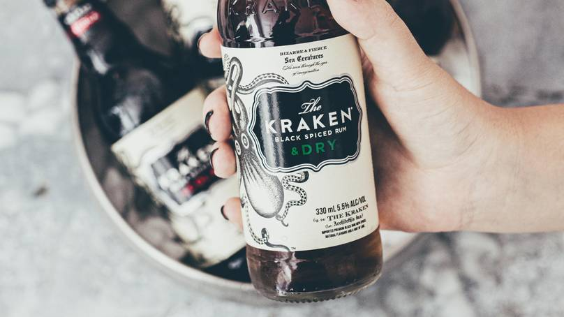 The Kraken Black Spiced Rum Unveils Two New Premixed Drinks photo