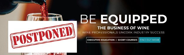 GSB The Business of Wine Course Postponed till 2021 photo