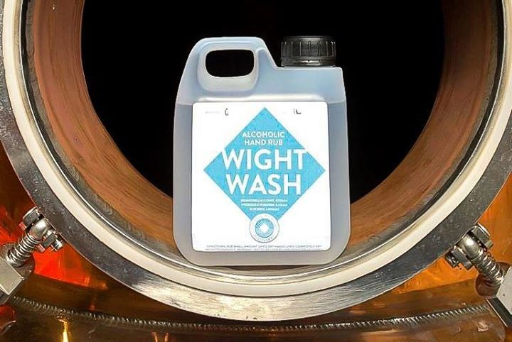 Isle Of Wight Distillery's Hand Sanitiser Now Available To The Public photo