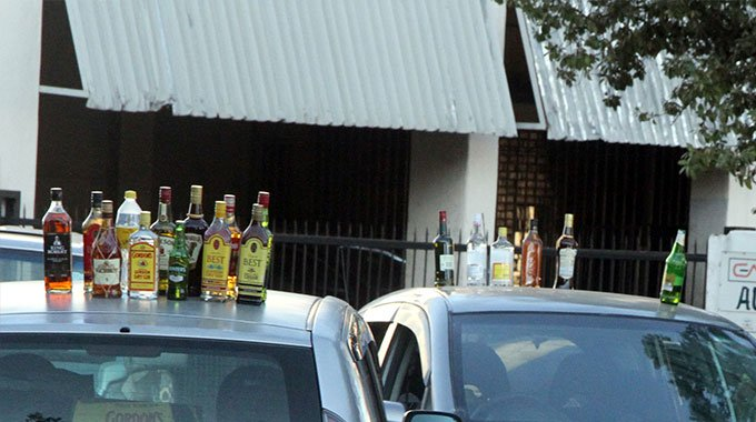 From Backroom Bottle Stores To Home Deliveries …how Underground Liquor Sales Thrive In Lockdown – Nehanda Radio photo