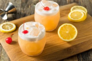 Lock, Stock And Wine Barrel: Whisky Sour photo