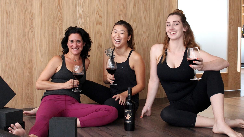 Virtual Yoga And Wine photo