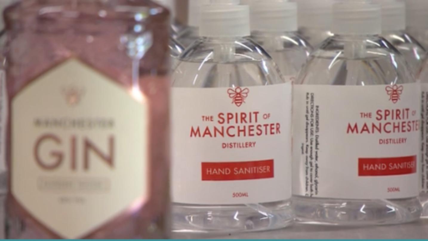 Manchester Gin Distilleries Producing Much Needed Hand Sanitiser photo