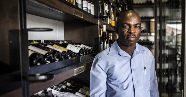 On Lockdown: Bongani Ngwenya, Sommelier photo