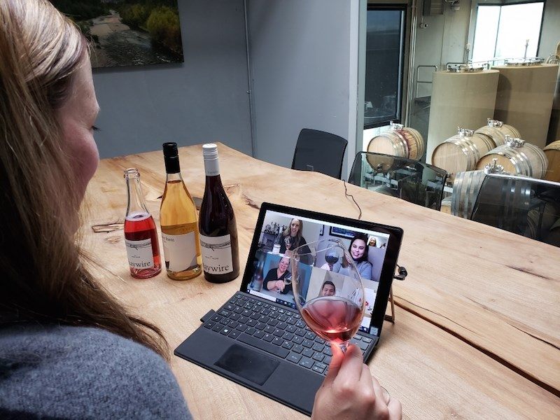 B.c. Wineries Are Now Holding Virtual Wine Tastings photo