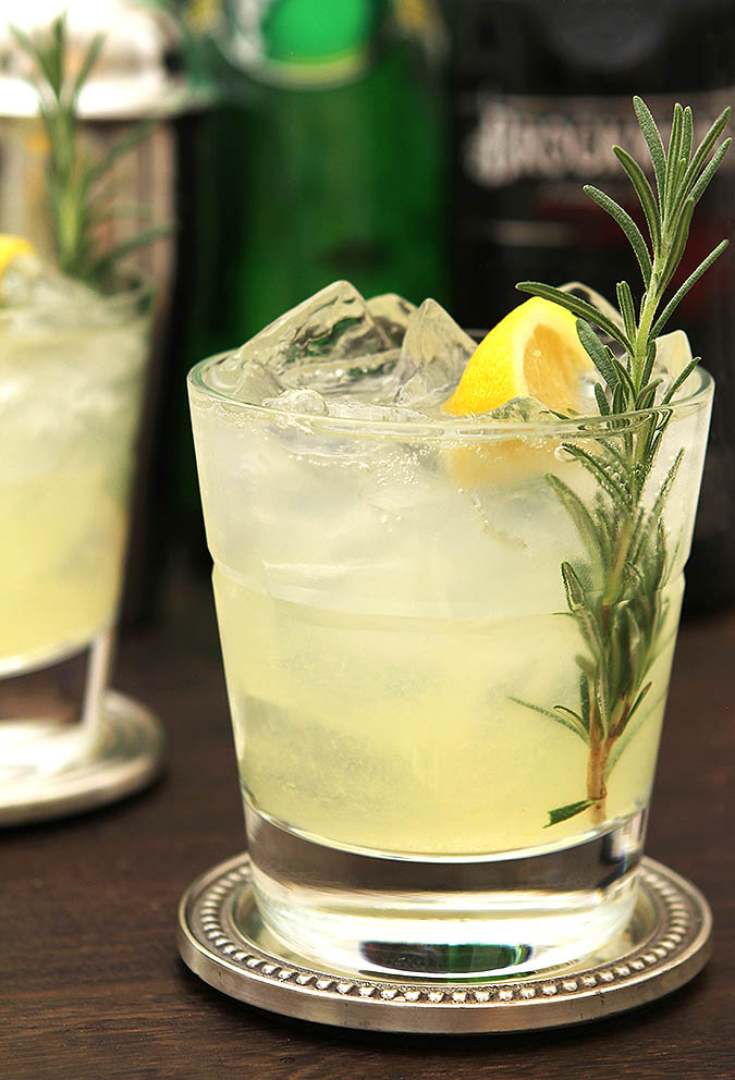 ophelia gin rosemary lemon cocktail 1 The Best Gin Mixers That Are Not Tonic