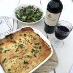 Chef Ian's Shepherd's Pie with Parmesan and De Grendel Merlot photo