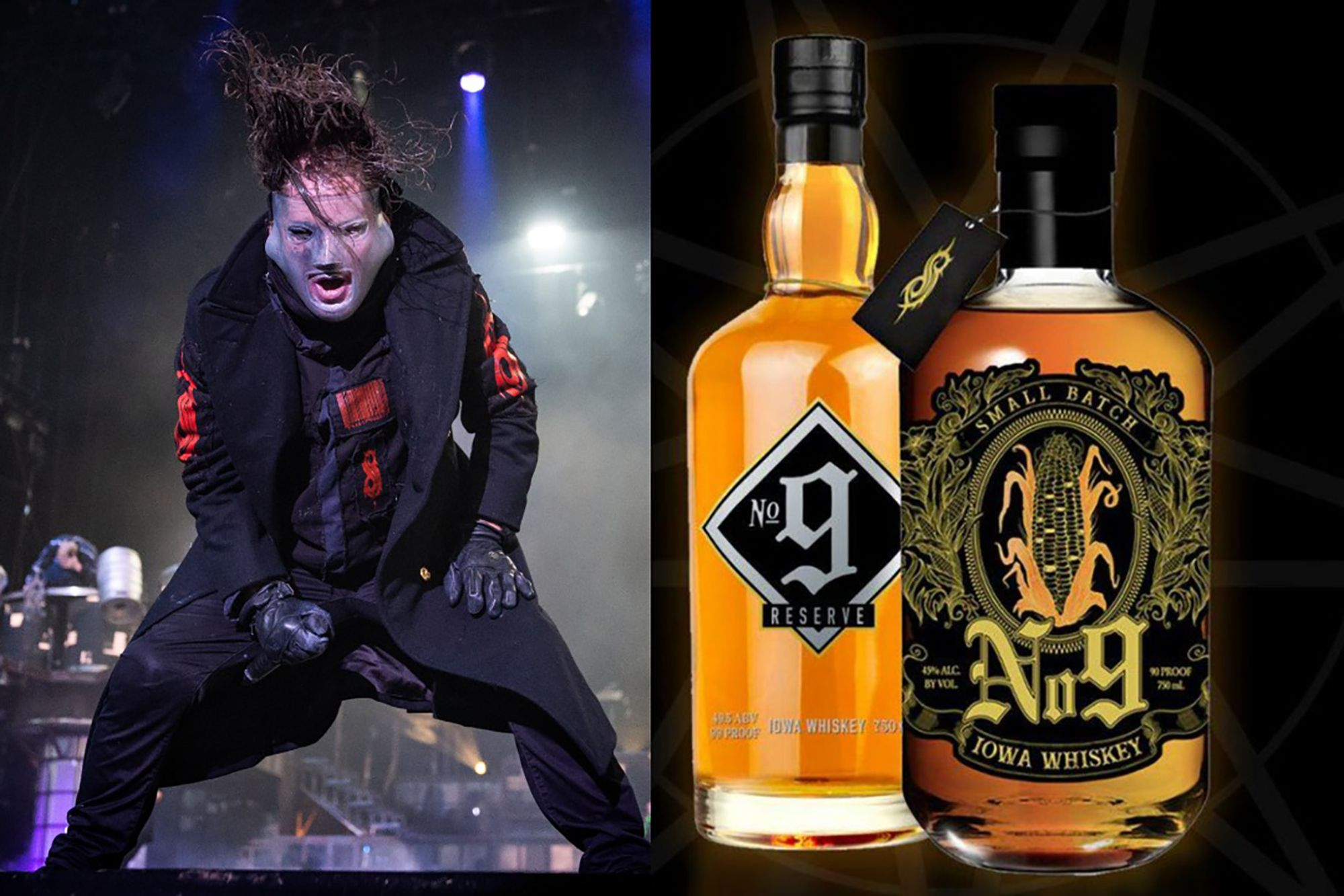 Slipknot's Whiskey Awarded Best Celebrity Whiskey by Forbes photo
