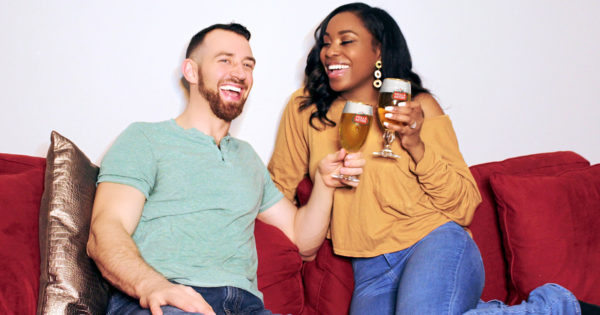 Stella Artois Offers Free Wedding For Quarantine Engagement photo