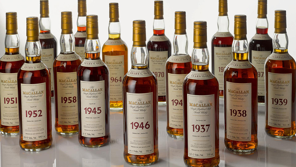 A Rare 1945 Macallan 56-year-old Whisky Could Fetch Up To $50,000 At Sotheby's photo