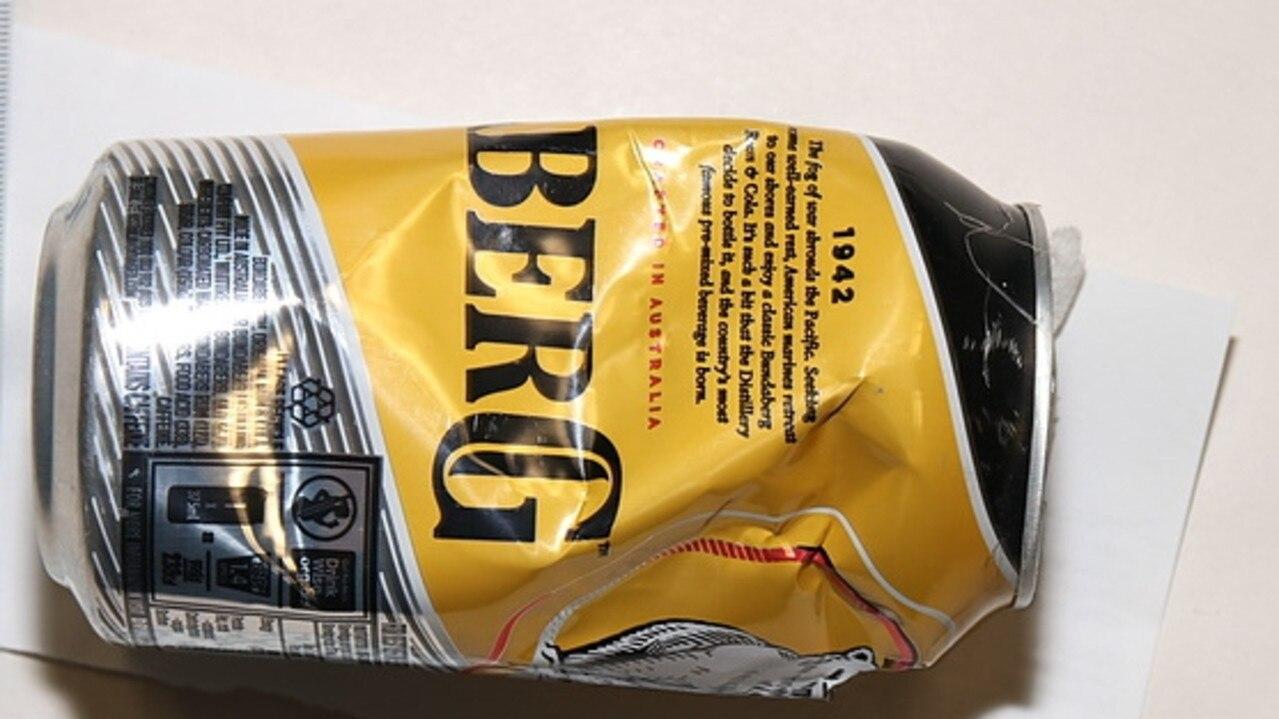 Man Allegedly Uses Fake Rum Can To Hide Mdma, Coke, Meth, Viagra photo