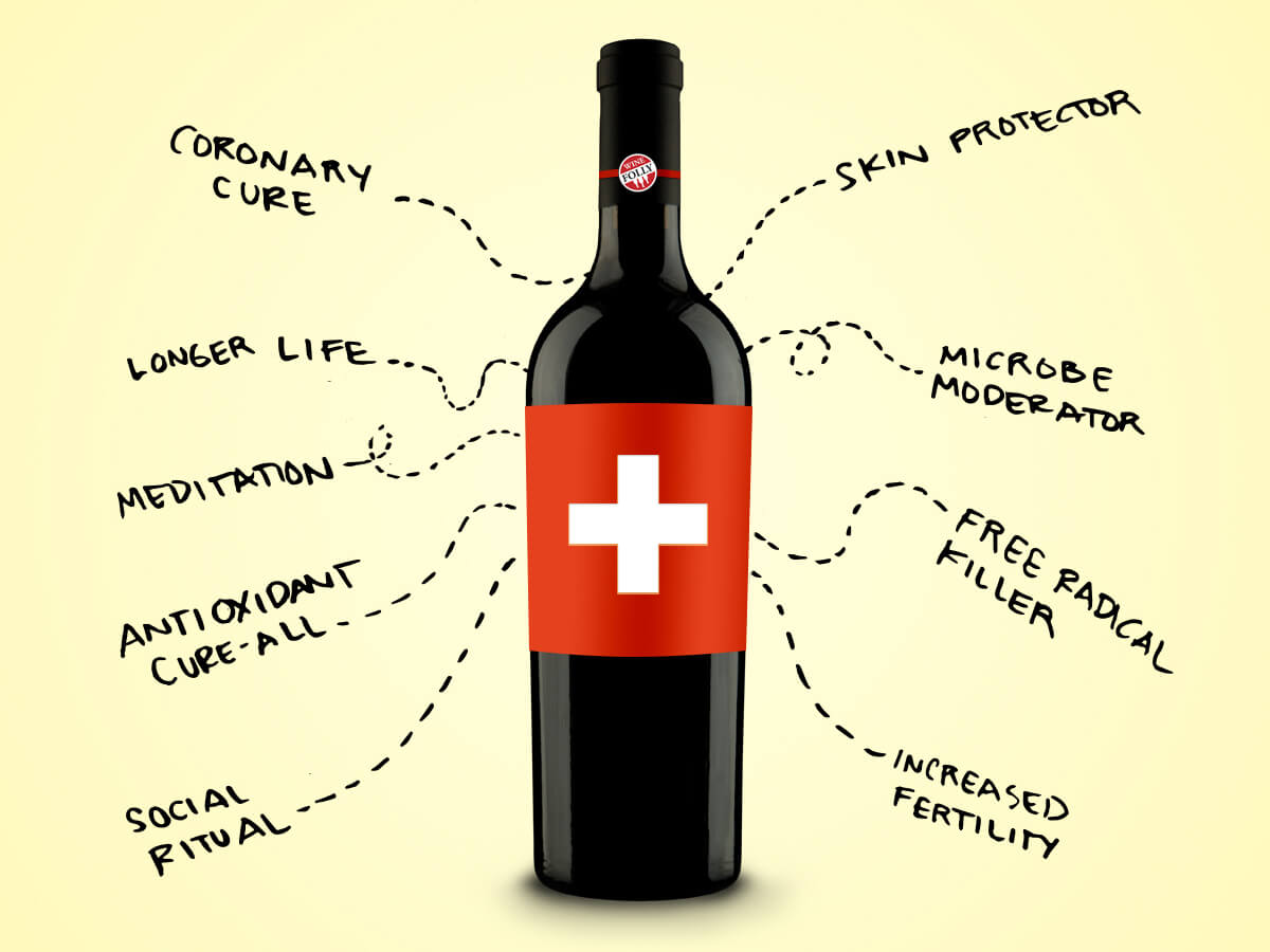 Wine And Health: A Bio-psycho-social Perspective photo