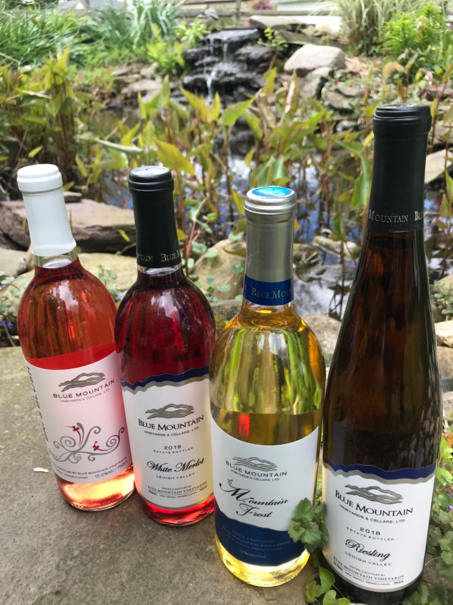 Blue Mountain Vineyards Wines Delivered To Your Doorstep! photo
