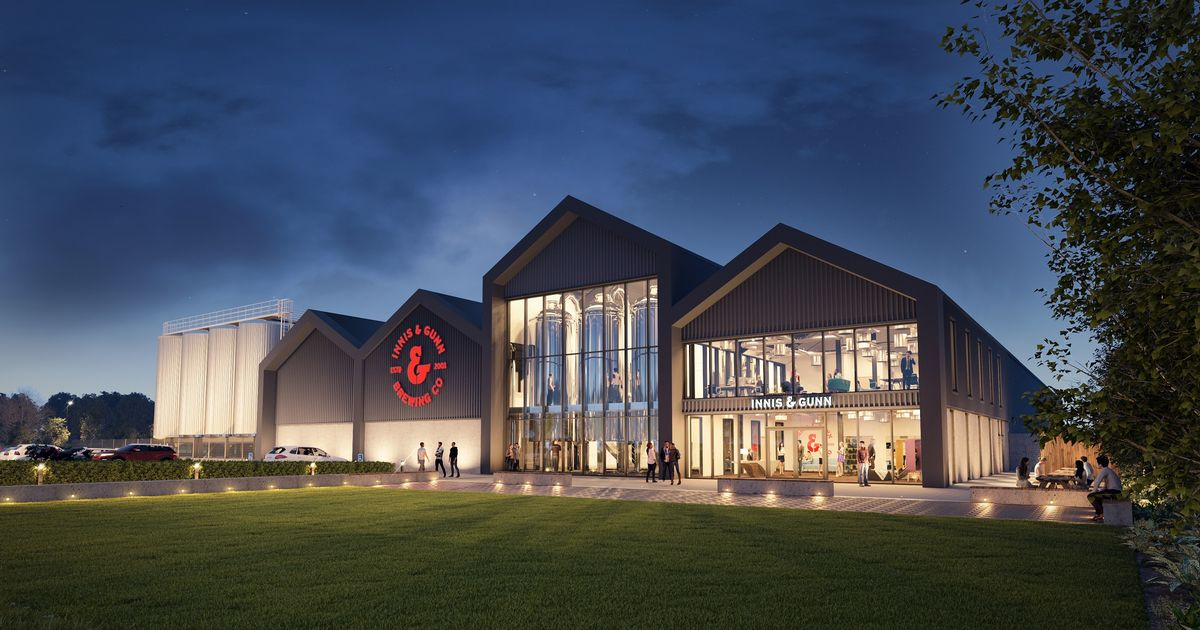 Innis & Gunn's Giant New Brewery Plans Revealed Including What It Will Look Like photo