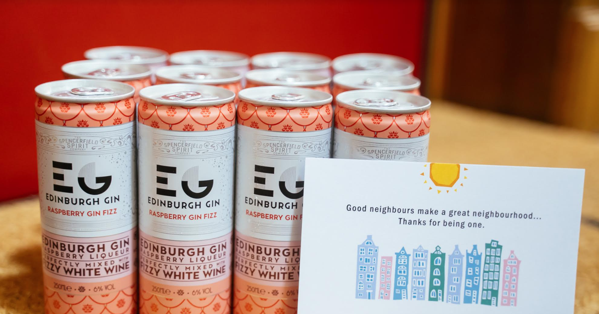 Edinburgh Gin Want To Celebrate A Community Which Has Shown The Strongest Spirit photo