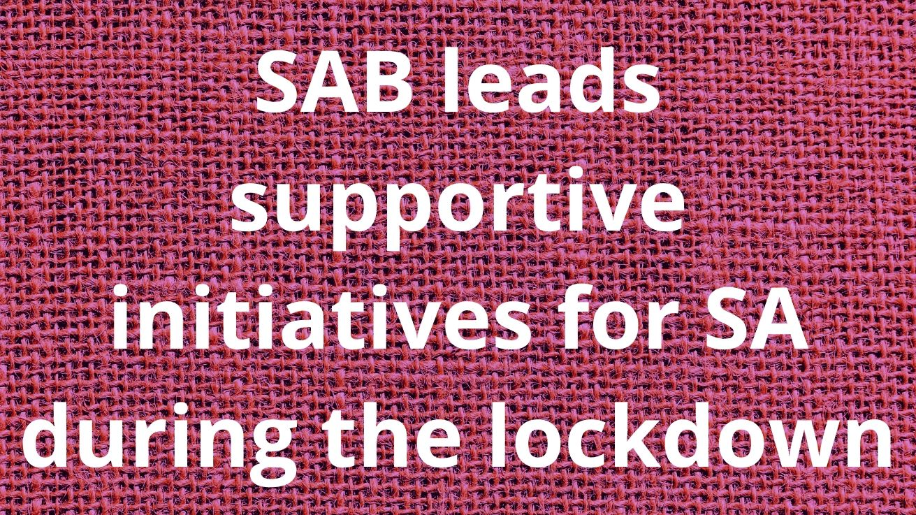 Sab Leads Supportive Initiatives For Sa During The Lockdown photo