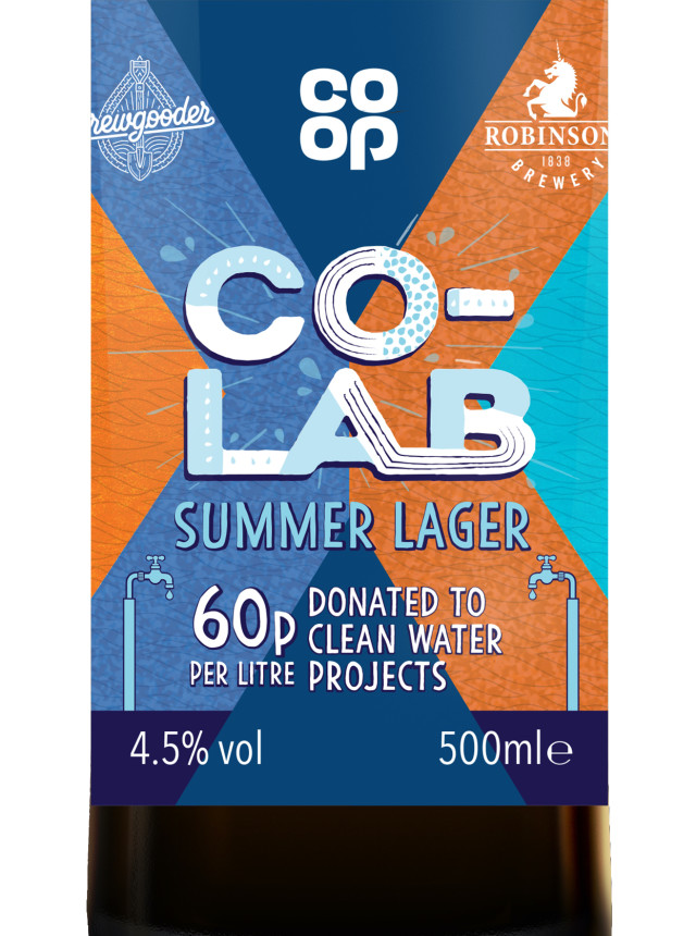 Co-op, Brewgooder And Robinsons Create Beer To Fund Clean Water Projects photo