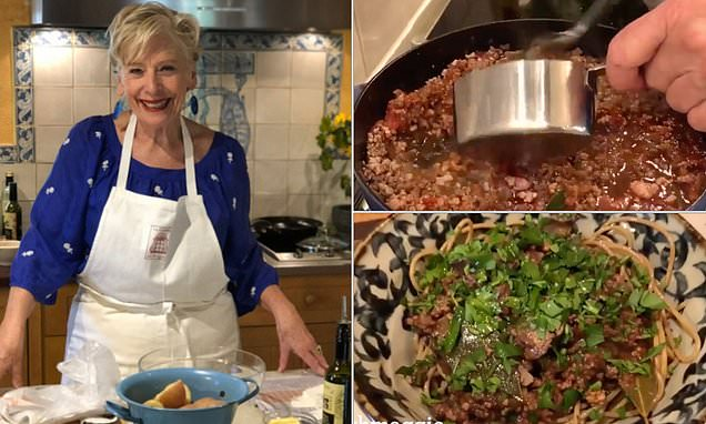 Chef Maggie Beer Reveals The Unusual Ingredient To Spaghetti Bolognese photo