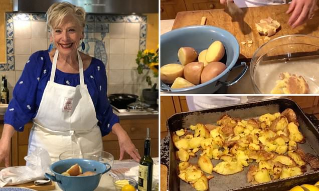 Maggie Beer's Simple Trick To Getting Perfect Crispy Roast Potatoes photo