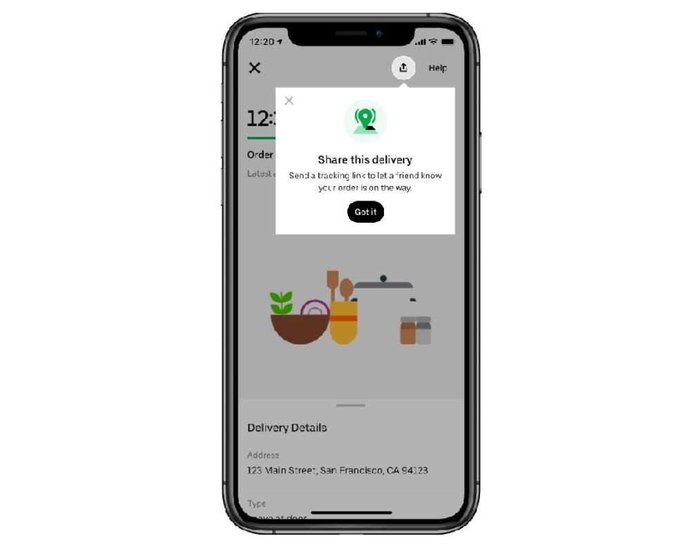 New Uber Eats Feature Simplifies Sending Food To Loved Ones photo