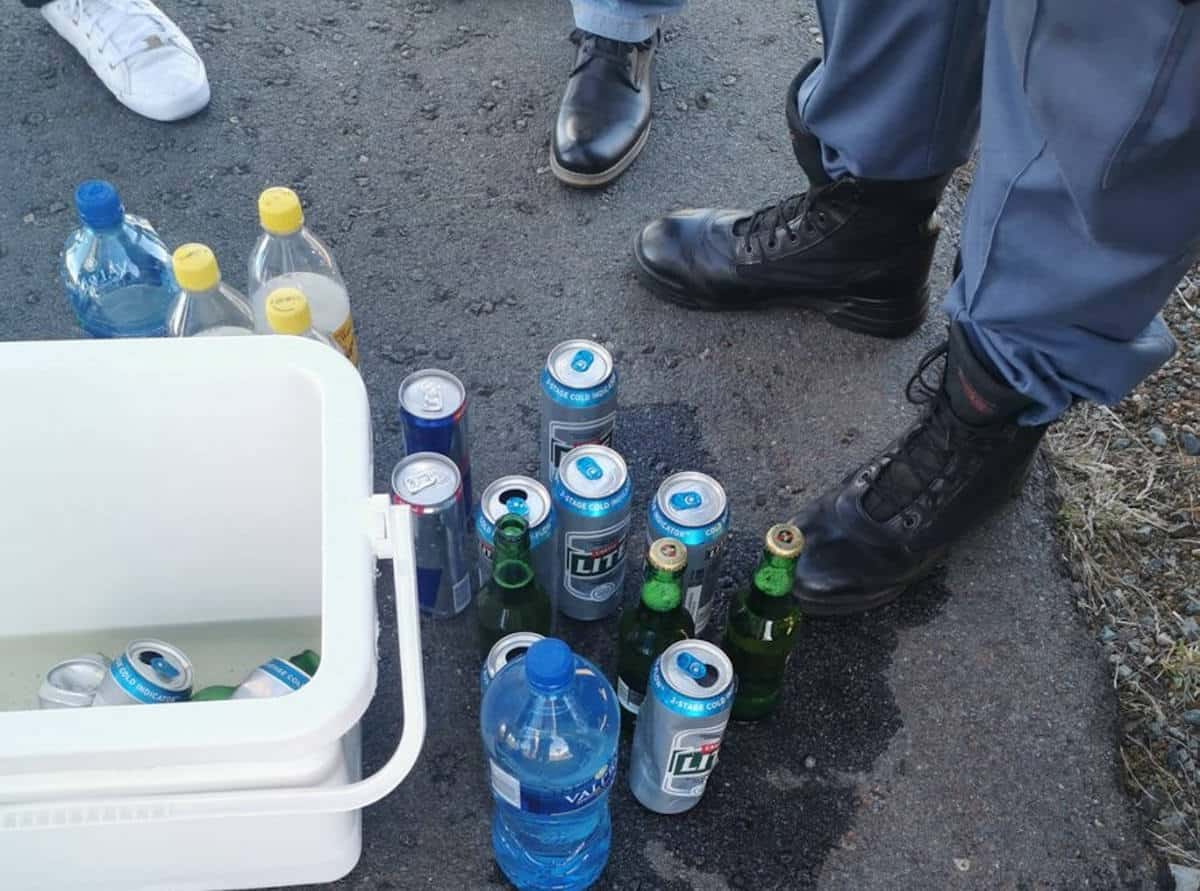 Sandf Soldier Arrested As Cops Find Hidden 'beer Stash' In His Boot photo