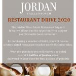 Jordan's Restaurant Support Drive Offers Free Wine To Its Contributors photo