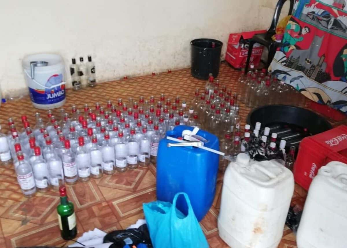 Kzn Police Find 20 Cases Of Fake Alcohol Labelled As 'smirnoff Vodka' photo
