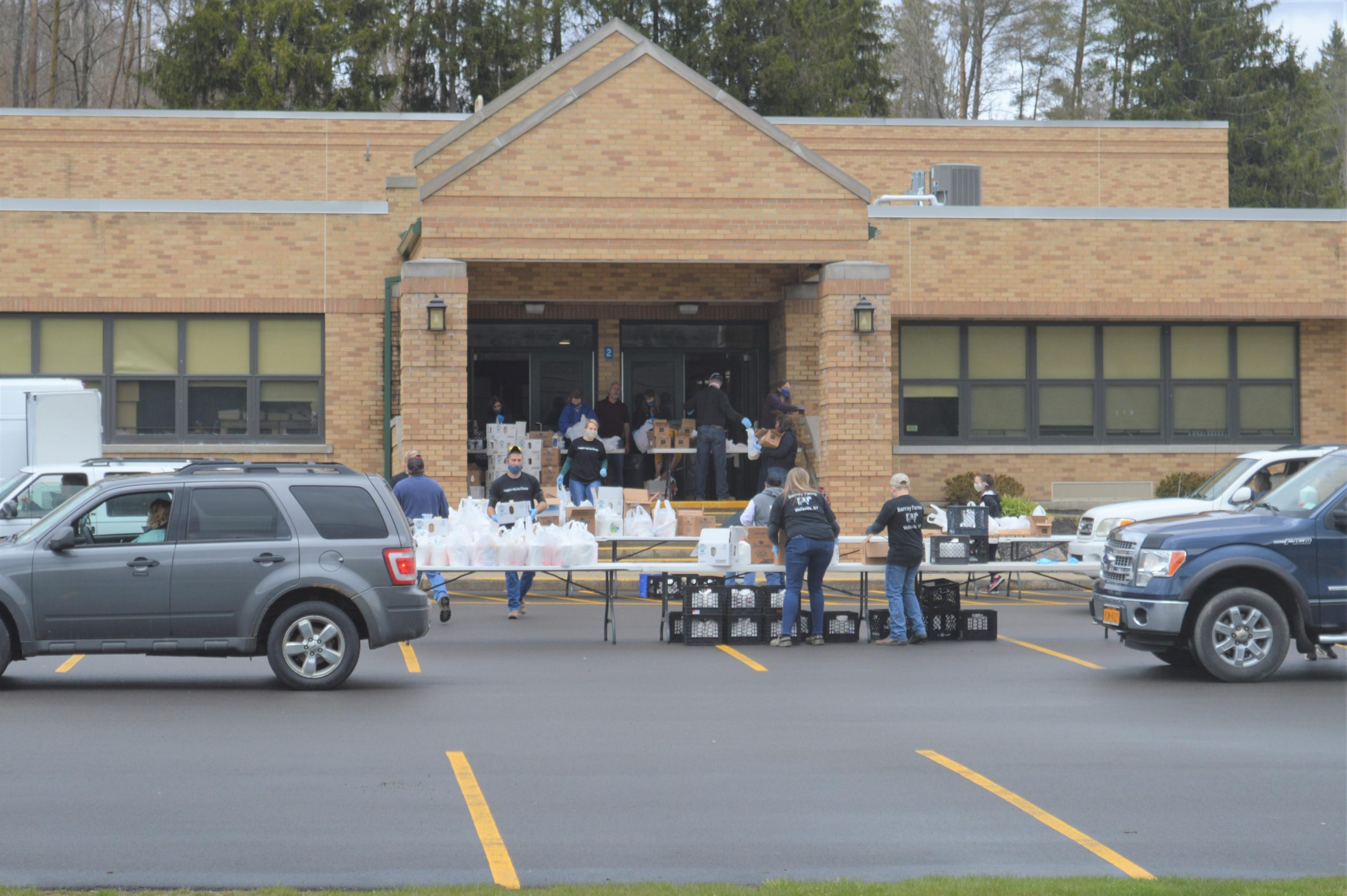 Wellsville's Turn For Free Milk Products photo
