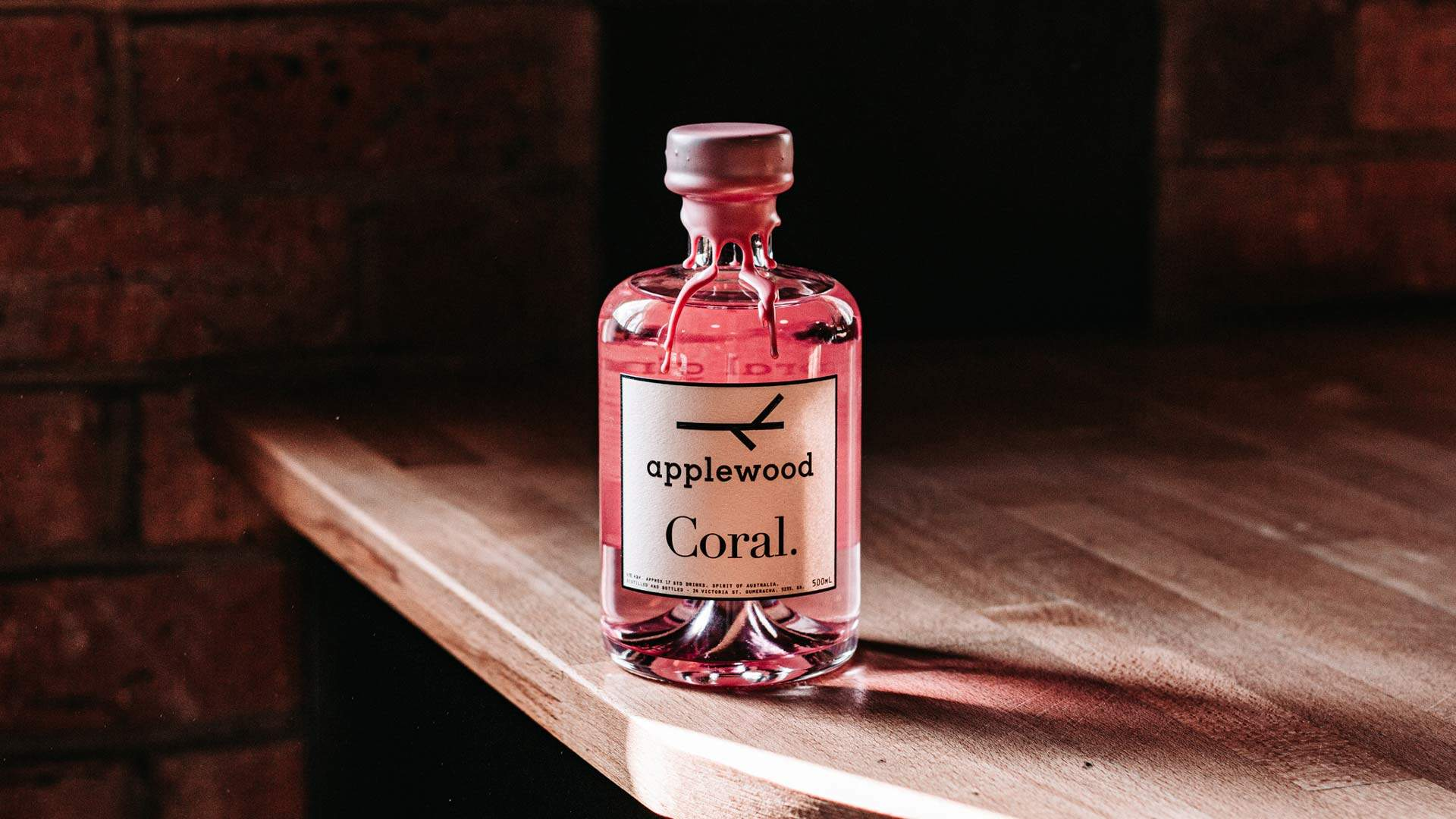 Applewood Distillery Has Just Released A New Coral Pink Gin Made With Native Australian Botanicals photo