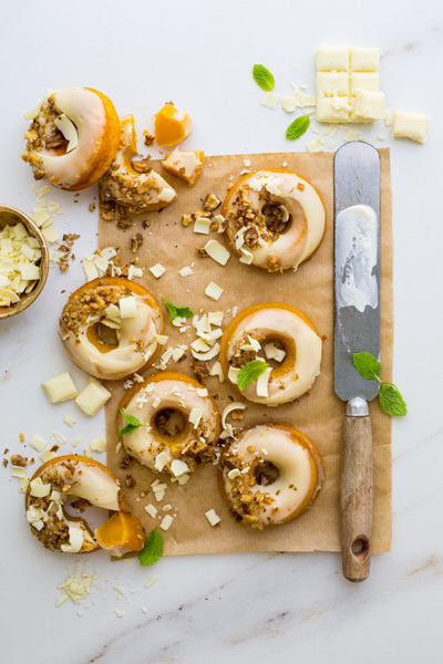 Carrot Cake Doughnuts Paired With Riesling photo