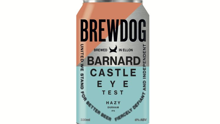 Brewdog Launches Barnard Castle Eye Test Beer photo
