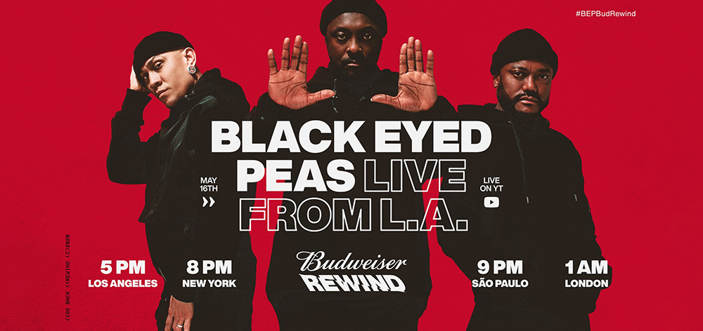 Budweiser Rewind Launches This Saturday, May 16 With Black Eyed Peas photo