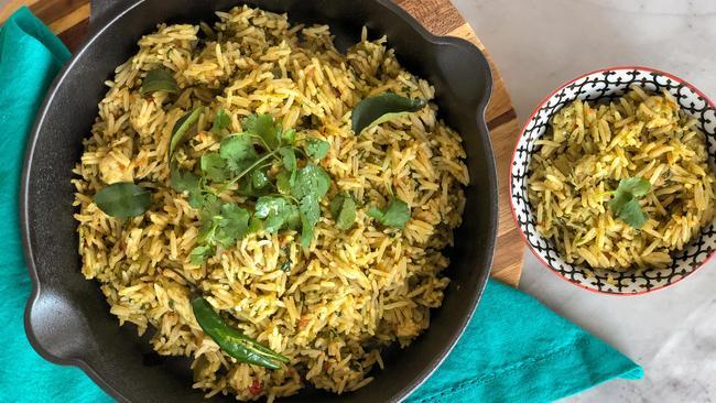 Eid Recipe: Spicy Coriander And Chicken Mexican Rice photo